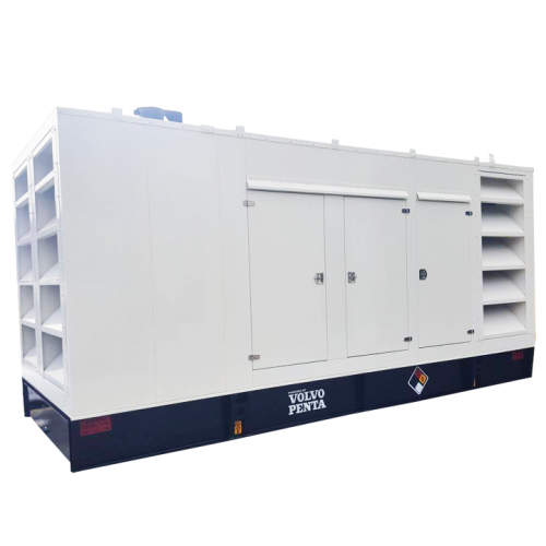 Cabina 500 600 kW RK Power